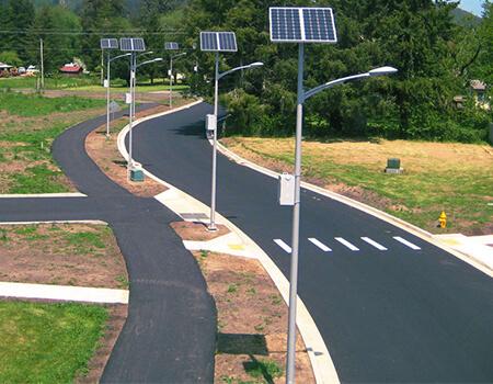 Đèn đường NLMT-DPTECH